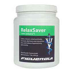 Relaxsaver (100% Sedaxine) Pure Powder Concentrate for Horses Figuerola Labs